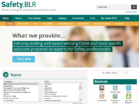 safety.blr homepage