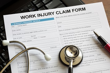 claim form injury return to work