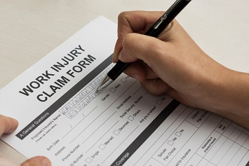 Workers compensation comp claim form