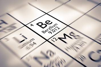 Focus on Beryllium Chemical Element from the Mendeleev Periodic Table