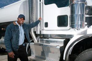 Hazmat truck driver