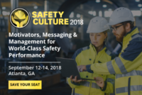 Safety Culture 2018