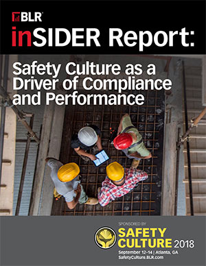 Safety Culture as a Driver of Compliance and Performance