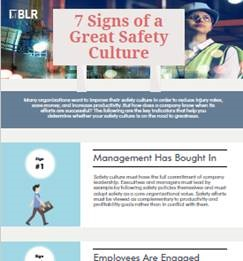 7 Signs of a Great Safety Culture