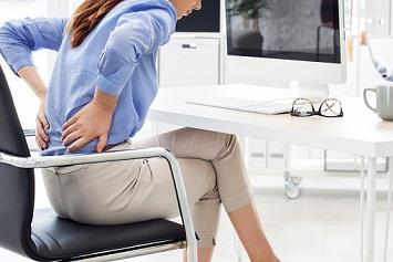 Back pain ergonomics