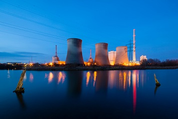 Cooling towers, water cooling