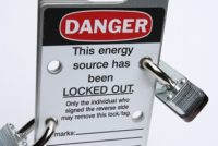 Lockout Tagout sign