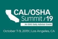 Cal/OSHA 2019 conference