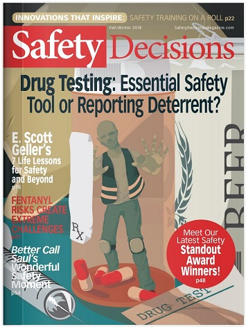Safety Decisions Fall/Winter 2018 cover