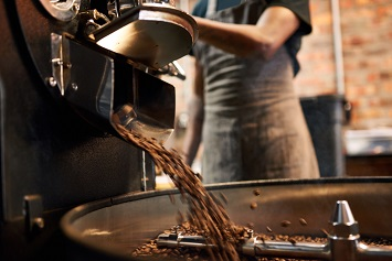 Food processing, coffee roasting and packaging