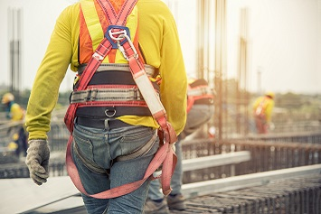 fall protection near miss