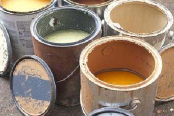 Paint cans, lead paint