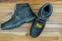 Nonslip, slip-resistant safety shoes