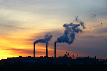 Air pollution, pollutants, smokestacks