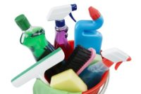 Cleaning products, chemicals