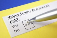 Valley fever risk