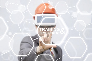 Virtual reality safety training