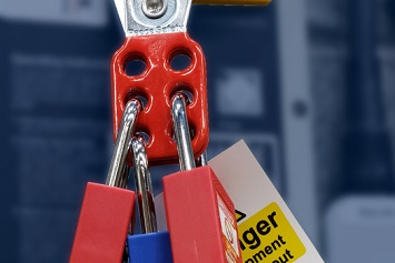 Lockout Tagout of electrical box