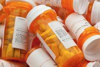 Pill bottles, pharmaceuticals