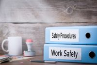 Workplace health and safety concept