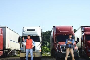 Trucks, truck drivers, trucking industry