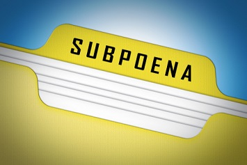 Subpoena file
