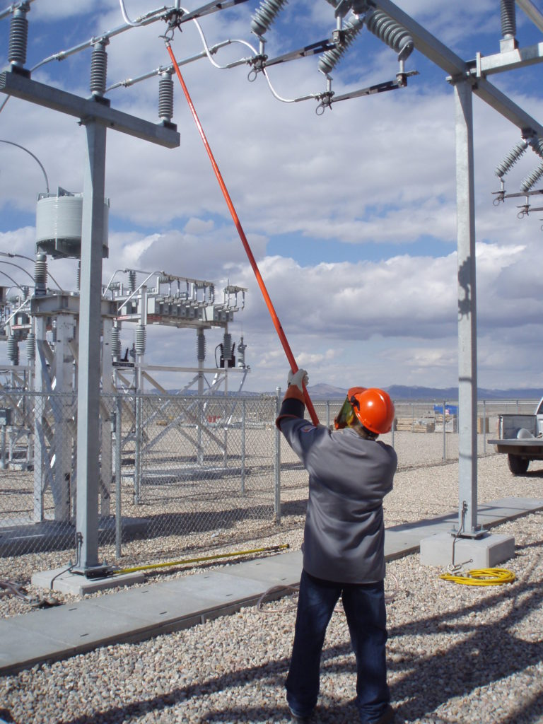 Substation electrical work PPE