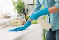 Disinfecting spray, wipes