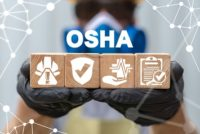 OSHA regs and enforcement concept