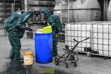 chemical spill and cleanup