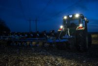 Nighttime Farm Work