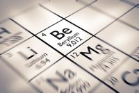 Beryllium on periodic table