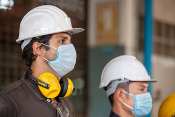 Masks and workplace safety