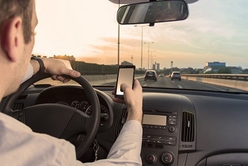 Distracted Driving with Phone