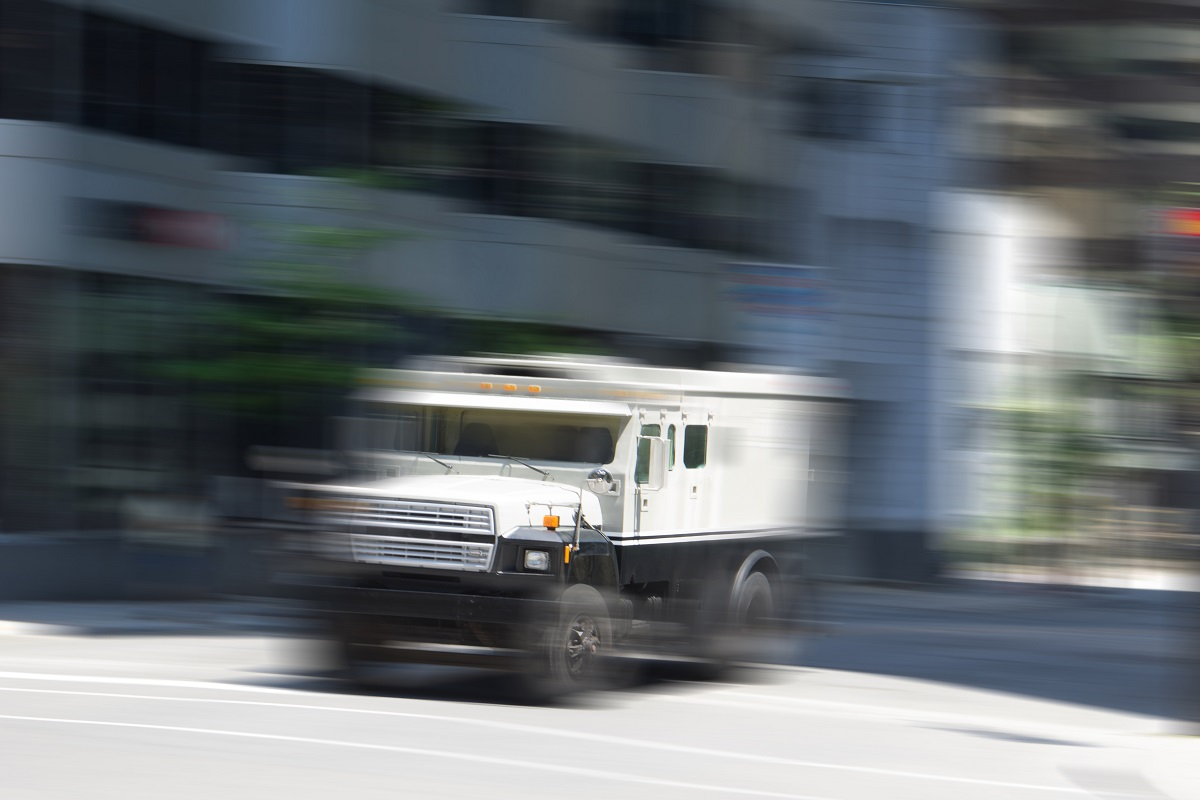 Armored car robbery attempt