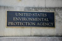 EPA sign, Environmental Protection Agency