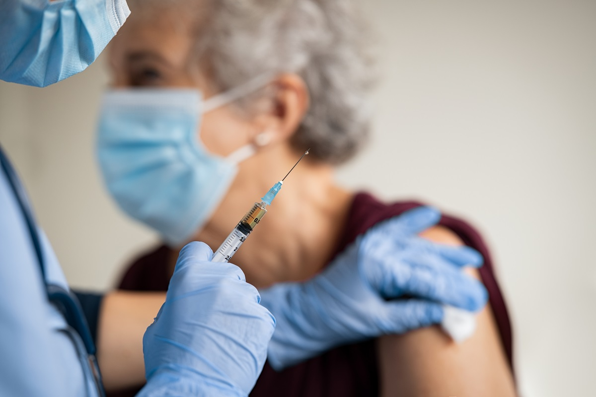Needlestick hazards, healthcare, COVID-19 vaccine