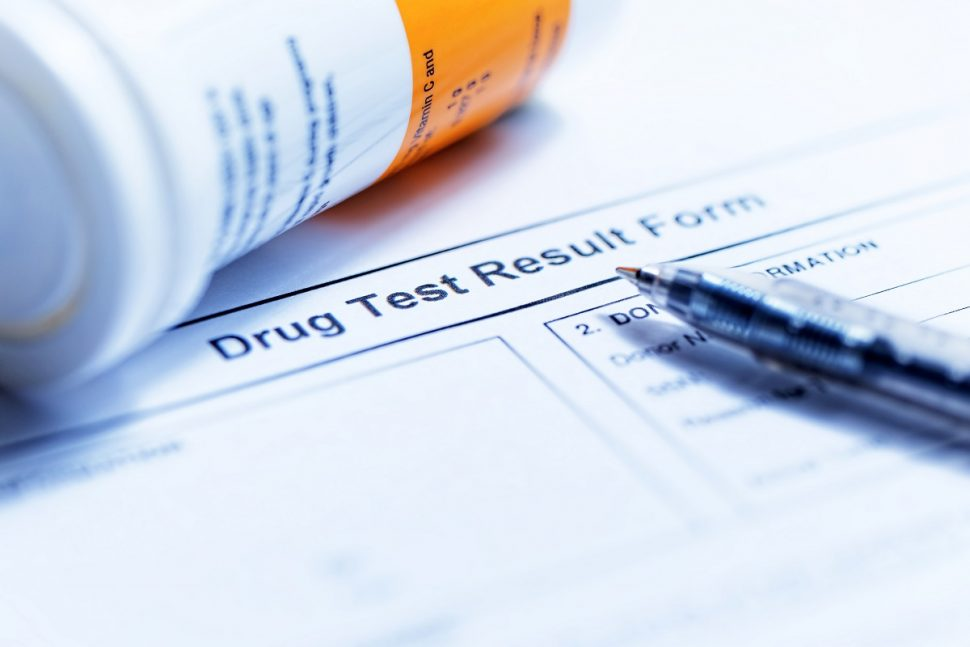 Drug and Alcohol Testing Results