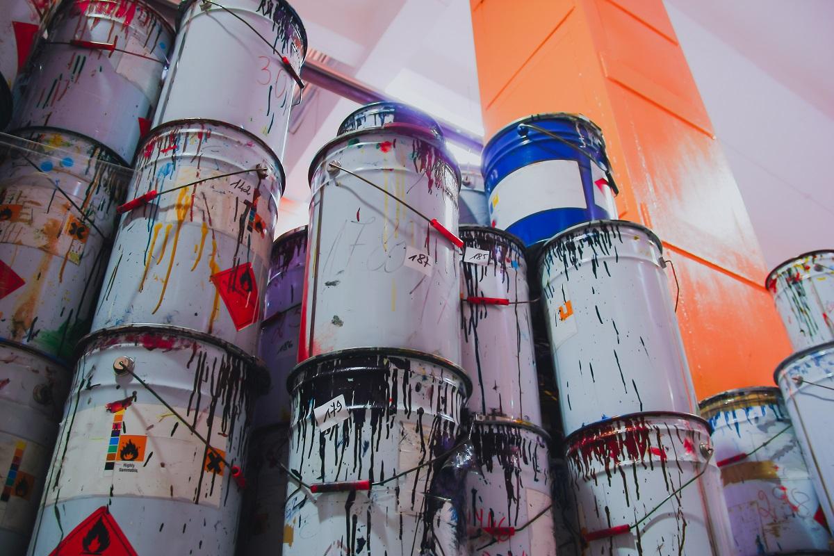 Hazardous materials and waste, paint waste, HAZWOPER