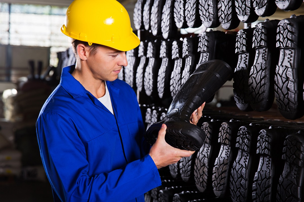 Protective footwear, foot safety, PPE