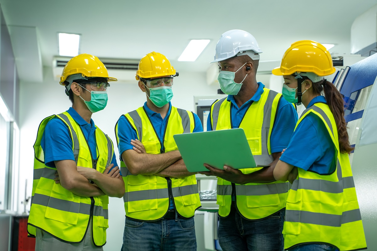 Safety team, COVID-19 standard