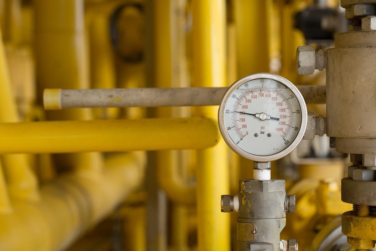 Pressure vessel gauge