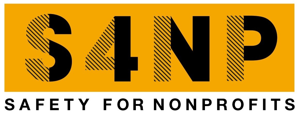 S4NP logo, Safety for NonProfits