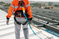 Fall protection equipment, roofing