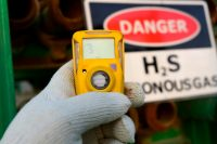 Hydrogen sulfide H2S gas detection