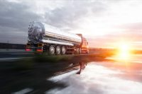 Fuel or oil truck, pipeline, transportation