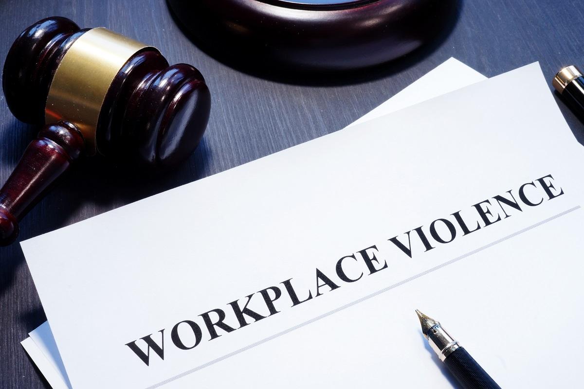 Workplace violence citation court judgment