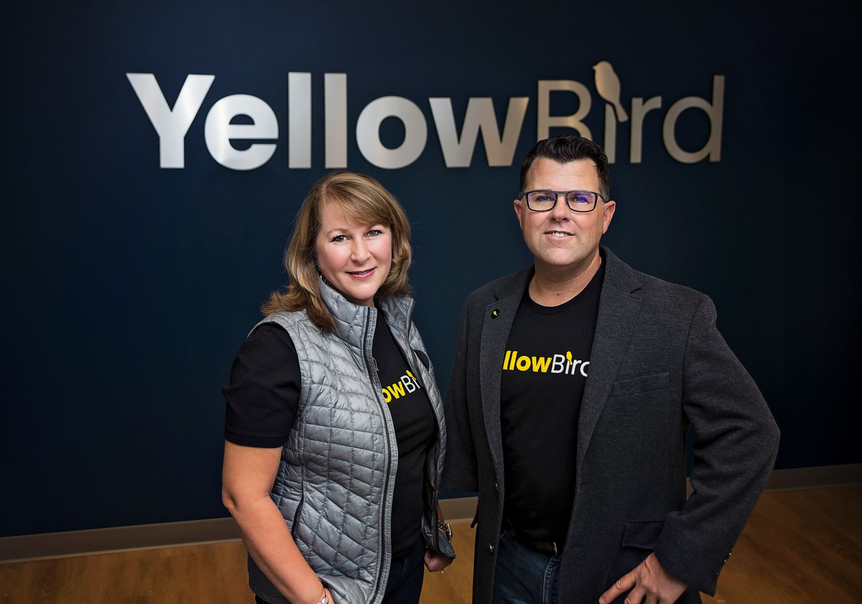 YellowBird cofounders Michelle Tinsley and Michael Zalle