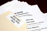 Stack of Resumes