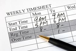 Calculating overtime for employees
